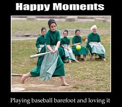 Playing baseball barefoot (gaeia) Tags: happymoments playingbaseball barefoot loving amish children softball sportdiversity sports ball