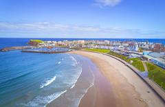 Portrush - Drone view (Dhina A) Tags: dji mavic pro drone sea coastal northernireland portrush 28mm f22
