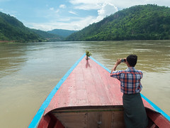 Heading Towards the Irrawaddy River Gorge