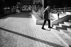 out of my frame and up (gato-gato-gato) Tags: 35mm bg bulgaria contax contaxt2 iso400 ilford ls600 noritsu noritsuls600 ostblock sofia strasse street streetphotographer streetphotography streettogs t2 analog analogphotography believeinfilm film filmisnotdead filmphotography flickr gatogatogato gatogatogatoch homedeveloped pointandshoot streetphoto streetpic tobiasgaulkech travel wwwgatogatogatoch sofiacity bulgarien black white schwarz weiss bw blanco negro monochrom monochrome blanc noir mensch person human pedestrian fussgänger fusgänger passant autofocus софия българия urlaub ferien reise adventure