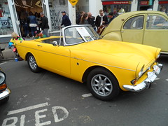 Stratford Festival Of Motoring 30th April 2017 (ukdaykev) Tags: car classiccar classictransport classic stratford stratforduponavon show stratfordfestivalofmotoring 2017 sportscar transport rootes sunbeam tiger convertible vehicle british minilites