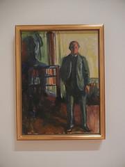 DSCN9059 _ Self-Portrait with Hands in Pockets, 1925-26, Edvard Munch, SFMOMA (Matthew Felix Sun) Tags: sanfrancisco sfmoma museum munch edvardmunch exhibition july 2017 betweentheclockandthebed