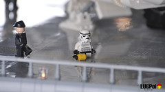 Dirty job (dmaclego) Tags: lego star wars return jedi endor project sanctuary forest moon landing platform