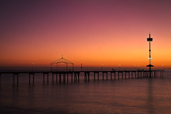 Brighton Jetty Sunset (johnwilliamson4) Tags: adelaide brighton outdoor phonetower southaustralia sunset water australia