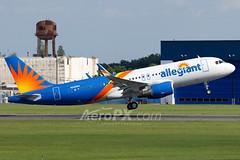 Allegiant Air Airbus A320-214 - N246NV (AeroPX) Tags: aeropx airbusa320 allegiantair caryliao ewing firstbrandnewairbusa320forallegiant kttn n246nv nj newjersey ttn trentonmercercountyairport