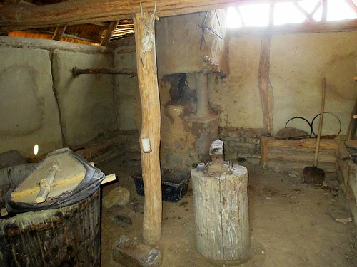 Archeoskanzen - kovárna