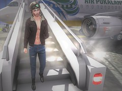 Mayday Mayday (EnviouSLAY) Tags: mayday plane scene planescene secondlifefashion secondlifephotography bomber pilot leather denim fur jeans boots black brown vintage lenox newreleases new releases bento catwa belleza elua anhelo anheloxelua airplane tmd themensdepartment the mens department mensmonhtly mensfair mensfashion mensevent monthlymens monthlyevent monthlyfair monthlyfashion monthly event fair fashion pale male gay blogger secondlife second life photography