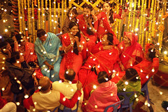Of happy faces (HasanSajid) Tags: wedding festival celebration happiness bliss relatives cousins souls face top red light