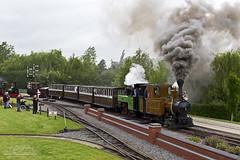 Sragi 1 departure (TimEaster) Tags: statfoldbarnrailway sbr narrowgauge steam loco train polephotography pole sragi1 krauss corpet clag statfold