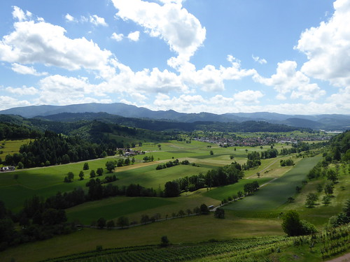 Blick zum Kaiserstuhl