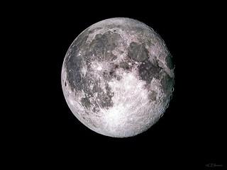der Mond  /  the moon / 10.Jun.2017 - 01:06h at night