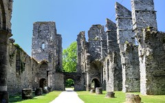 Abbaye de Villers-La-Ville(1) (YᗩSᗰIᘉᗴ HᗴᘉS +7 000 000 thx❀) Tags: villerlaville belgium belgique abbaye ruine ruin old bâtiment architecture hensyasmine