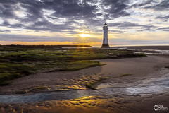 New Brighton Golden Sands (warrengreenjelly1) Tags: new brighton lighthouse gold golden sand sands sunset wirral merseyside rocks mersey shore