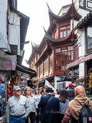 Yu Yuan (Yu Garden), Shanghai, China (Victor Wong (sfe-co2)) Tags: ancient architecture art asia asian building china chinese city culture cultures day design east exterior famous famousplace formal garden history house landmark old oriental ornamental outdoors pavilion people place red residence scene shanghai shop store street structure style tourism tourists town traditional travel visitors yuyuangardens yuyuan