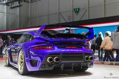 Avalanche (Beyond Speed) Tags: porsche 911 turbo 991 gemballa avalanche supercar supercars car cars carspotting nikon automotive automobili geneva geneva2017 purple