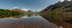 Wast Water (Lee~Harris) Tags: wast water wastwater lakedistrict landscape mountains outdoors june summer lake reflections beauty love colourful nikon panoramic tranquil sky wideangle lens 1020mm d300 vista scene cloud landscapephotography peaceful day solitude