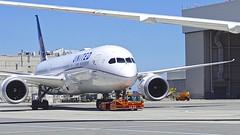 United Airlines 2015 787-9 N13954 c/n 36405 at KSFO. 2017. (planepics43) Tags: unitedairlines unitedexpress sanfranciscoairport n13954 36405 sfo sfoov southwestairlines airport 787 777 747 737 757 727 747sp 767 claytoneddy california 17crossfeed landing lufthansa tower takeoff 320 380 319 boeing airbus americanairlines deltaairlines