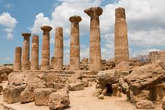 SicilyS (95 of 135) (margaretelman) Tags: agrigento italy ruins sicily templeofhercules valleyoftemples sicilia it