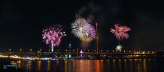 Japan Day in Duesseldorf (hespasoft) Tags: japantag düsseldorf feuerwerk fireworks