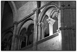 Les finestres del trifori, Catedral de Sta. María, Lugo (España)