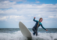 Just before the fall (nickmccully) Tags: beginner surf surfing waves ocean seaside sea tribord surfboard portrush whiterock