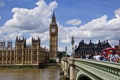 Big Ben & Westminster Bridge (Magdeburg) Tags: london big ben bigbenlondon bigben westminsterbridge westminsterbridgelondon westminster palace westminsterpalace