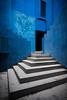 Azul (PK Visuals) Tags: architecture blanca bofill costa costablanca espana house la lamurallaroja mar muralla pk ricardo ricardobofill roja spain valencia holiday ocean