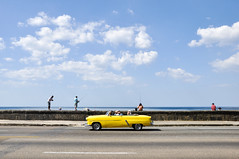 Malecon flash (marin.tomic) Tags: kuba cuba havana habana city urban malecon ocean tropical caribbean travel car vintage cuban nikon d90 holiday vacation sunny explore explored