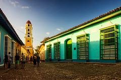 En Trinidad (Carpetovetón) Tags: atardecer torre campanrio sonynex5n trinidad cuba