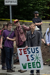 Defending Portland (Joe Frazier Photo) Tags: pdx journalism photojournalism protest rally nazi police racism freedom speech dogwhistle antifa love hate portland showdown tense tension standoff