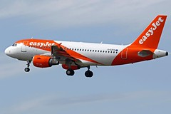 G-EZFE EASYJET A319 NEWCASTLE AIRPORT (toowoomba surfer) Tags: airline airliner jet aeroplane aircraft aviation ncl