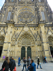 St. Vitus Cathedral #3 (jimsawthat) Tags: architecture architecturaldetails historic urban czechrepublic prague church cathedral