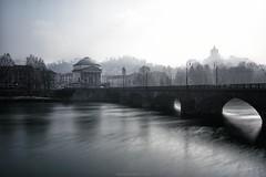 Scompare Torino in un Abbraccio (Roberto -) Tags: turin torino long exposure lunga esposizione tokina 1120 vittorio emanuele gran madre po river fiume nebbia mist