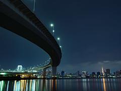 GFX02808 (Zengame) Tags: ariake fujifilm fujinon gf gf3264mm gf3264mmf4 gf3264mmf4rlmwr gfx gfx50s architecture bridge fuji illuminated illumination japan landmark rainbowbridge tokyo tokyobay tokyotower tower フジ フジノン レインボーブリッジ 富士 富士フイルム 日本 有明 有明北緑道公園 東京 東京タワー 東京湾 橋 江東区 東京都 jp