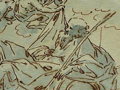 ITALIE 17e - La Sainte Famille (drawing, dessin, disegno-Louvre INV17360) - Detail 09 (L'art au présent) Tags: details détail détails detalles drawings dessins dessins17e 17thcenturydrawings italiandrawings italianpainters peintresitaliens anonymous italiananonymous anonymesitaliens religion catholic catholique bible figures personnes people man men hommes croquis étude study sketch sketches louvre museum paris france italie italia italy jesus jésus christ saint holy tree arbre holyfamily kid kids child children vierge virgin putti anges angelot angel angels rideau rideaux curtain curtains joseph saintjoseph