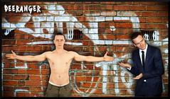 Dilemma (The Deeranger) Tags: cherik charles xavier postapocalyptic auction presentation lehnsherr magneto fan art james mcavoy michael fassbender mcfassy