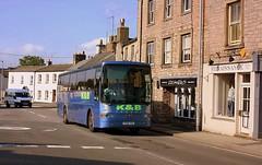 K&B Travel at Kirkby Stephen (Chris Baines) Tags: kb travel penrith vanhool alizee bodied volvo b10m kirkby stephen
