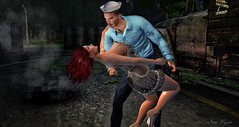 A Sailor's Return (sam Lycan) Tags: wewanttobefree couple sailor love companion avi ava avatar firestorm sl secondlife together cute ironwood ironwoodhills vintage style man men woman women wcw mcm neverapart mine yours ours us partnerincrime adorable dance returnhome welcomehome missedyou
