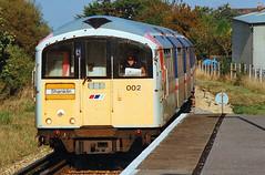 Island Line. (curly42) Tags: 002 class483 railway islandline shanklin isleofwight transport travel thirdrail 483002