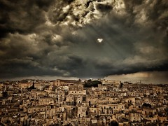 just a little bit of drama (paddy_bb) Tags: travel 2017 olympusomd paddybb italien italy mediterranean cityscape matera sassi
