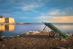 Trapani (Michele Naro) Tags: trapani sicily sicilia sizilien sicile sea sunset italien italy italia italie iamnikon nikond610 nikkor35mmf18 longexposure langzeitbelichtung