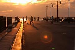 Пристань (engine9.ru) Tags: небо архангельск люди солнце закат фонари sunset sun arkhangelsk lamps