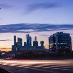 Moscow Traffic Light-trails thumbnail