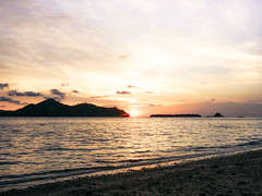 Golden Sunset (wira_aditya) Tags: sunset sunsets beach sea seascape summer holiday travel adventure shore indonesia sumatera island silhouette sun paradise heaven gold evening