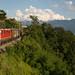 CFF Re 420 141 avec un train de marchandise dans le Lavaux