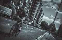 Triathlon Vitoria 2017 (Sergio Nevado) Tags: triathlon vitoria gasteiz alava araba pais vasco euskadi basque country bici bike daniel baraldes blanco negro black white