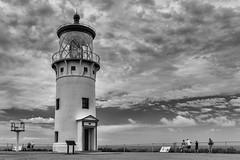 Kilauea Lighthouse - Kauai (Giuseppe Moschetti.) Tags: giuseppe moschetti kilauea lighthouse kauai hawaii bw blackwhite light sky nikon d810 sigma art 35mm