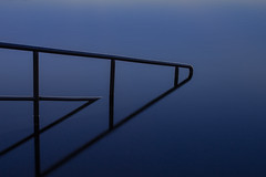 Handrail (RoosterMan64) Tags: australia longexposure nsw northnarrabeen northernbeaches oceanpool reflection sunrise