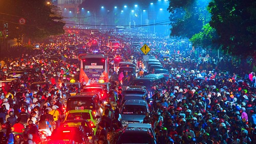jakarta traffic jam by bastamanography, on Flickr