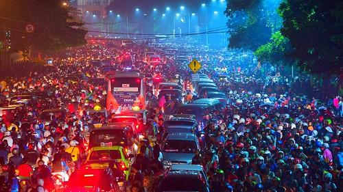 jakarta traffic jam by bastamanography, on Flickr